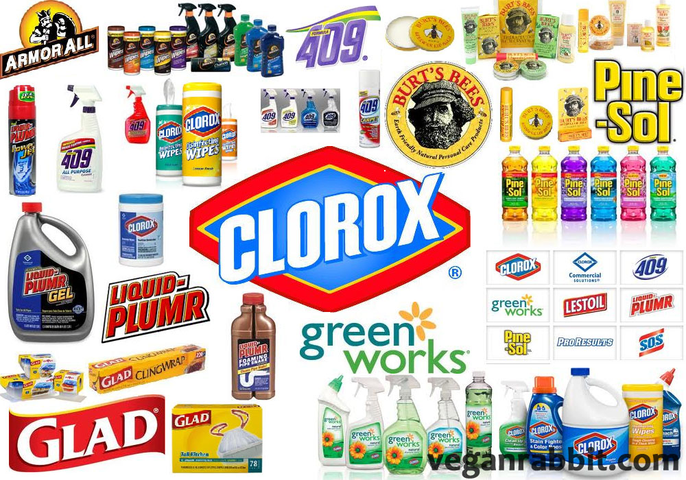 clorox company products
