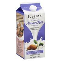 lucerne almond milk