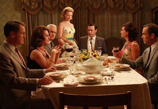 dinner table argument, disagreement, etiquette