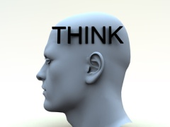 think, use your brain, analyze, ask questions