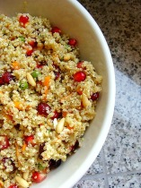 quinoa, cooked, vegan, vegetarian