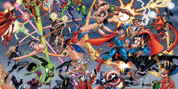 marvel and dc superheroes