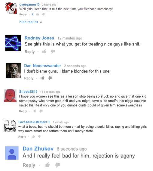 notallmen but yesallwomen misogynist comments