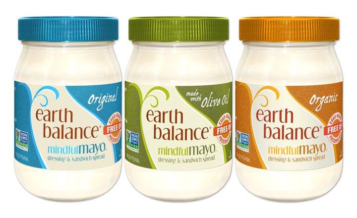 earth balance, mindful mayo, mayo, mayonnaise, vegan, vegan mayo, eggless mayo