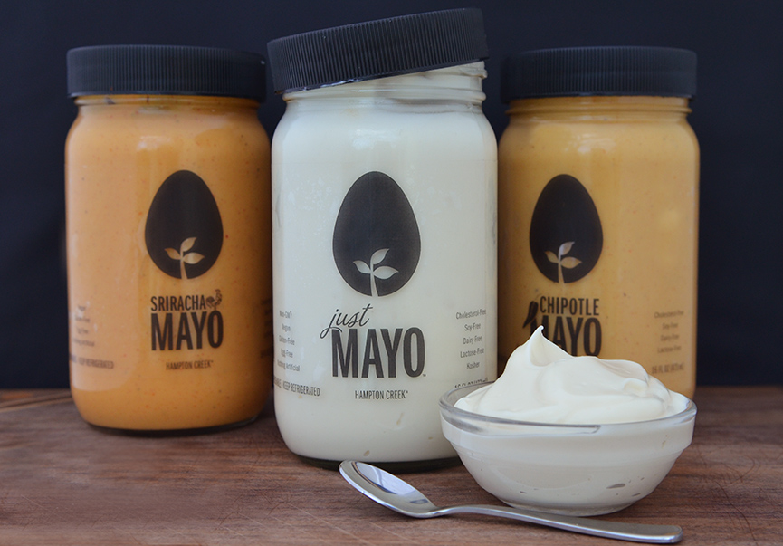 hampton creek, just mayo, vegan, mayo, mayonnaise, vegan mayo, eggless, egg-free