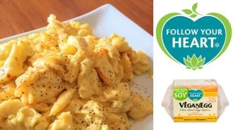 follow your heart, vegan egg, vegan, no eggs, eggless, egg-free, scrambled eggs, products